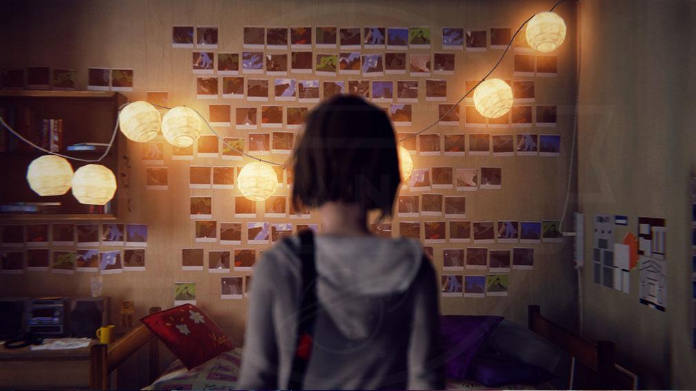 ライフ イズ ストレンジ(Life is Strange) PC 写真がたくさん貼ってある可愛いマックスの部屋スクリーンショット