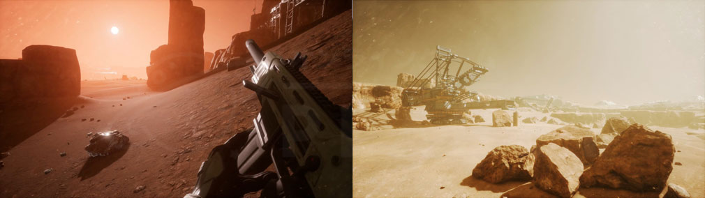 Memories of Mars(メモリースオブマーズ) PC 道中に獲得できる素材スクリーンショット