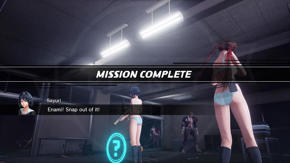 スクールガールゾンビハンター (SG/ZH School Girl/Zombie Hunter) PC ミッション完了スクリーンショット