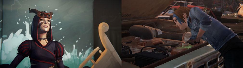 ライフ イズ ストレンジ ビフォア ザ ストーム(Life is Strange Before the Storm) PC 様々な新たな一面を見せる『クロエ』スクリーンショット