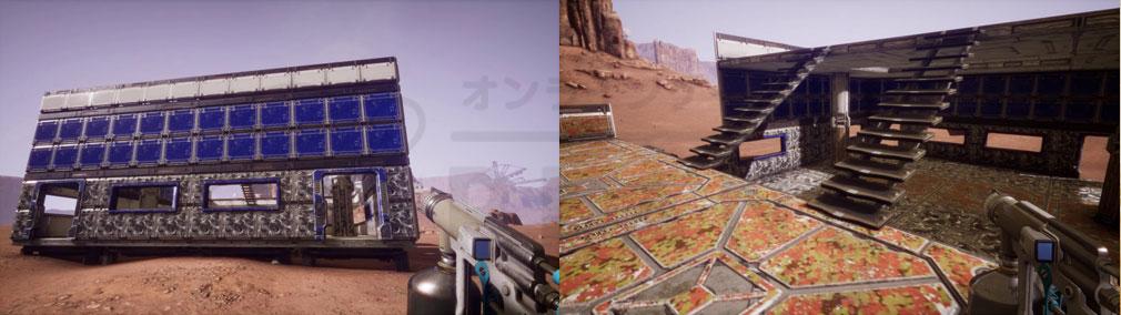 Memories of Mars(メモリースオブマーズ) PC 拠点カラーとパターンカスタマイズスクリーンショット