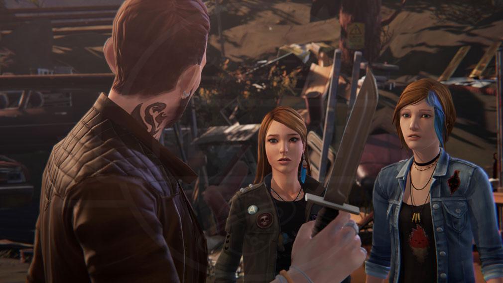 ライフ イズ ストレンジ ビフォア ザ ストーム(Life is Strange Before the Storm) PC 『クロエ』と『レイチェル』に危険が及んでいるスクリーンショット