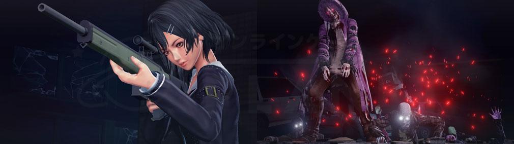 スクールガールゾンビハンター (SG/ZH School Girl/Zombie Hunter) PC スナイパーライフルを使う女子高生、ゾンビを発生させる謎の男『レン』スクリーンショット