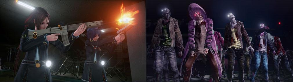 スクールガールゾンビハンター (SG/ZH School Girl/Zombie Hunter) PC ゾンビ対名もなき女子高生5人の戦いのスクリーンショット