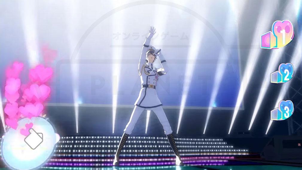 カタルシステージ!(カタステ) PC 藍墨 涼(アイズミ リョウ)盛り上がるステージのイメージ