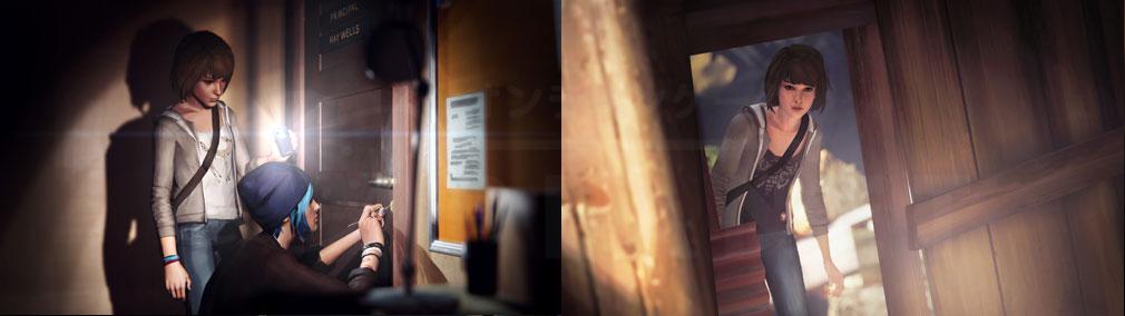 ライフ イズ ストレンジ(Life is Strange) PC バタフライエフェクトにより未来に歪みが起きる物語のスクリーンショット
