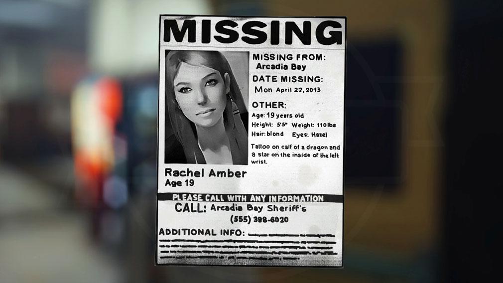 ライフ イズ ストレンジ(Life is Strange) PC キャラクター『レイチェル(Rachel Amber)』