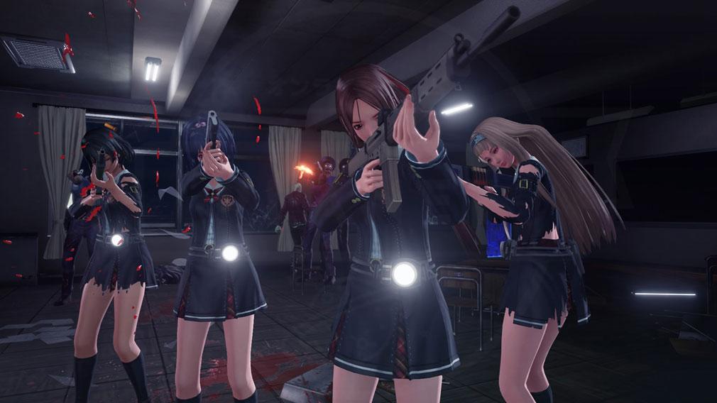 スクールガールゾンビハンター (SG/ZH School Girl/Zombie Hunter) PC 学園内シューティングバトルスクリーンショット