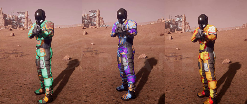 Memories of Mars(メモリースオブマーズ) PC キャラクターカラー、パターンカスタマイズ