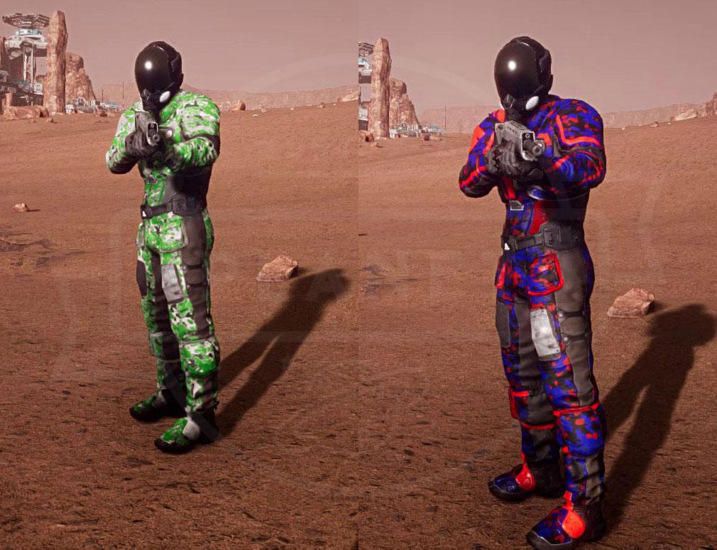 Memories of Mars(メモリースオブマーズ) PC キャラクターカラーカスタマイズ