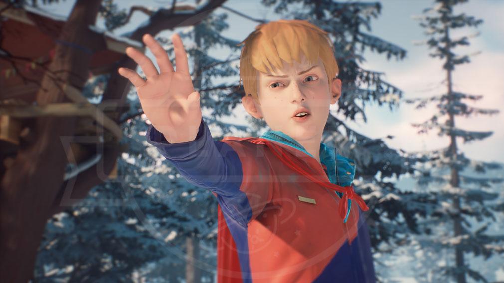 """キャプテンスピリット(The Awesome Adventures of Captain Spirit) PC 超能力ヒーロー""""キャプテン・スピリット""""になることを夢見る主人公10歳の少年『クリス・エリクソン』のスクリーンショット"""
