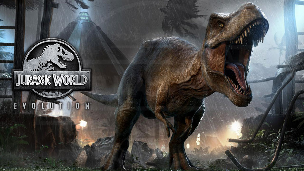 ジュラシック ワールド エボリューション(Jurassic World Evolution) PC キービジュアル