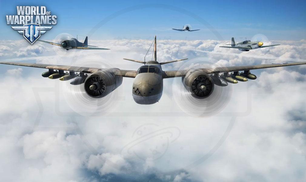 World of Warplanes (WoWP) ワールドオブウォープレインズ メインイメージ