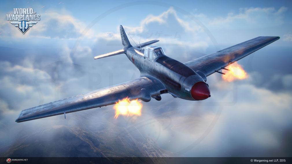 World of Warplanes (WoWP) ワールドオブウォープレインズ 対地攻撃機クラススクリーンショット