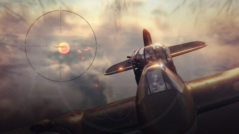 World of Warplanes (WoWP) ワールドオブウォープレインズ タレット制御モードのバトルスクリーンショット