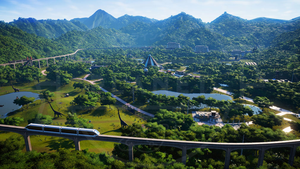 ジュラシック ワールド エボリューション(Jurassic World Evolution) PC 『ジュラシック ワールド』を完全再現したスクリーンショット