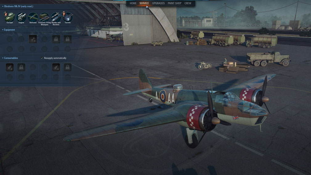 World of Warplanes (WoWP) ワールドオブウォープレインズ 技術開発スクリーンショット