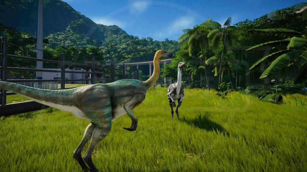 ジュラシック ワールド エボリューション(Jurassic World Evolution) PC 見た目と生物学的な特徴の両方がユニークに生まれた恐竜のスクリーンショット