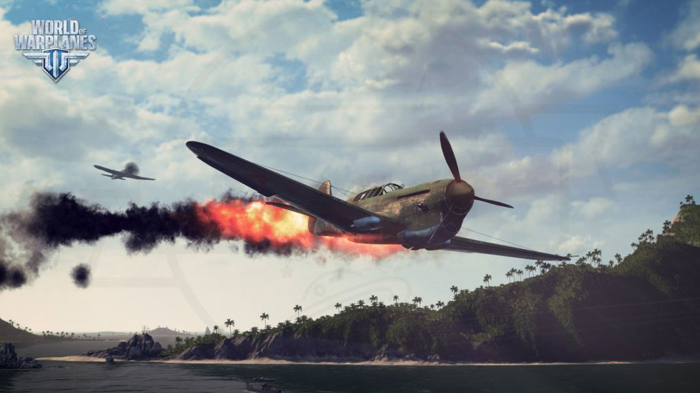 World of Warplanes (WoWP) ワールドオブウォープレインズ 航空機同士のバトルスクリーンショット