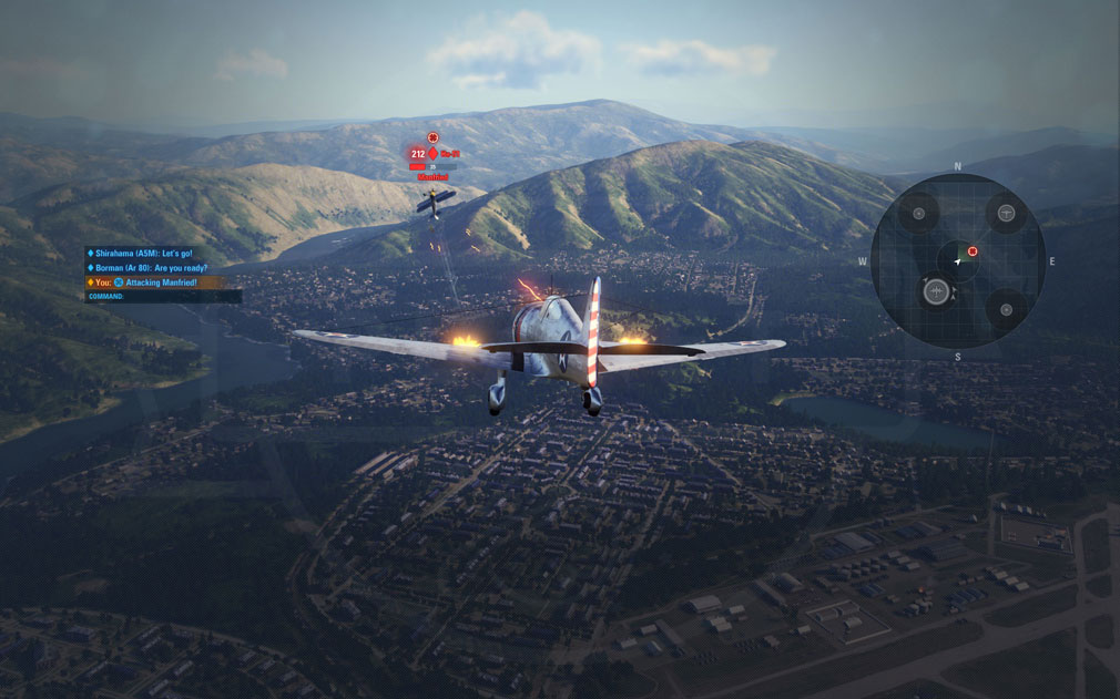 World of Warplanes (WoWP) ワールドオブウォープレインズ ドッグファイトスクリーンショット