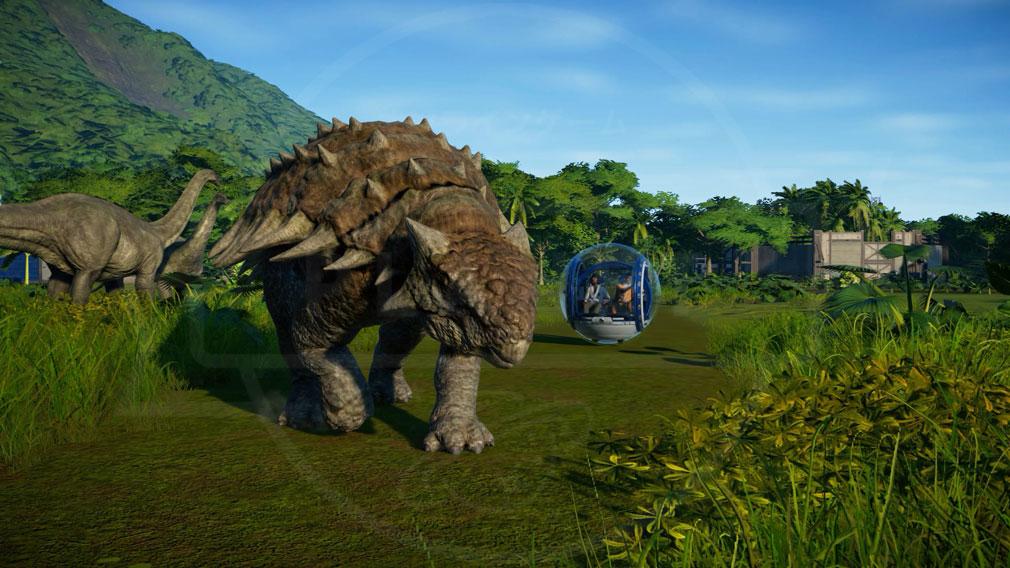 ジュラシック ワールド エボリューション(Jurassic World Evolution) PC 映画にも登場したアトラクションスクリーンショット