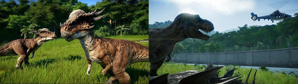 ジュラシック ワールド エボリューション(Jurassic World Evolution) PC 島内に展示されている恐竜スクリーンショット