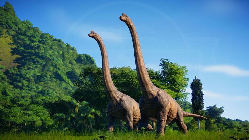 ジュラシック ワールド エボリューション(Jurassic World Evolution) PC ブラキオサウルスのスクリーンショット
