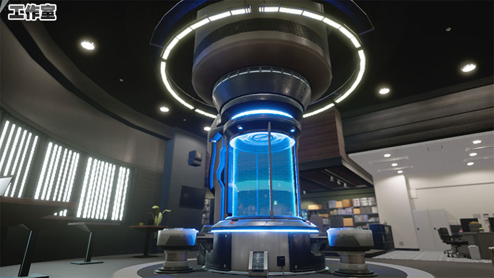 New ガンダムブレイカー PC ステージ『工作室』スクリーンショット
