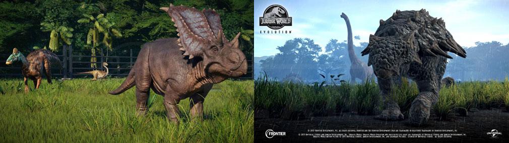 ジュラシック ワールド エボリューション(Jurassic World Evolution) PC 新種の恐竜を作成することも可能な育成システムスクリーンショット