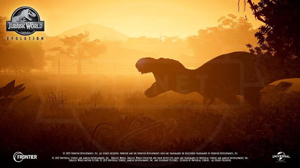 ジュラシック ワールド エボリューション(Jurassic World Evolution) PC 時間で景色や景観も変化する美麗スクリーンショット