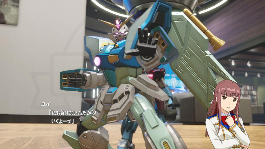 New ガンダムブレイカー PC 『ミカグラ ユイ(CV:東山奈央)』ガンプラスクリーンショット
