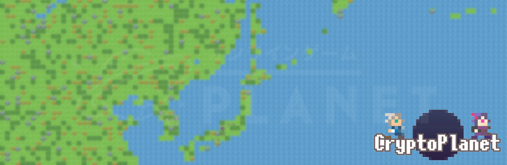 CryptoPlanet(クリプトプラネット) フッターイメージ