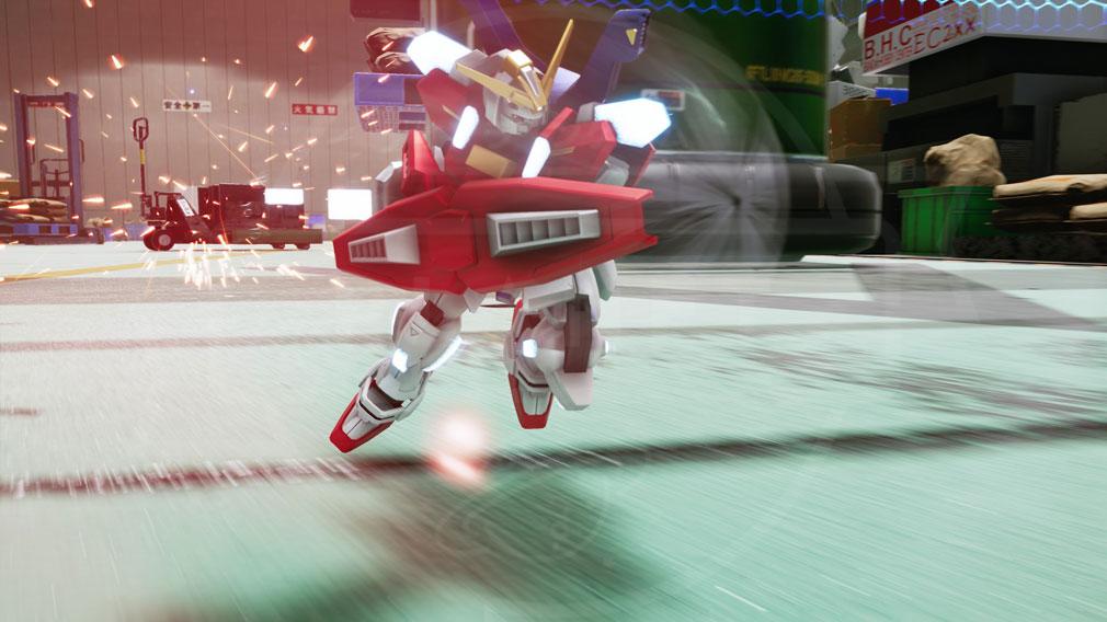 New ガンダムブレイカー PC 新規参戦ガンプラ『スターバーニングガンダム』スクリーンショット