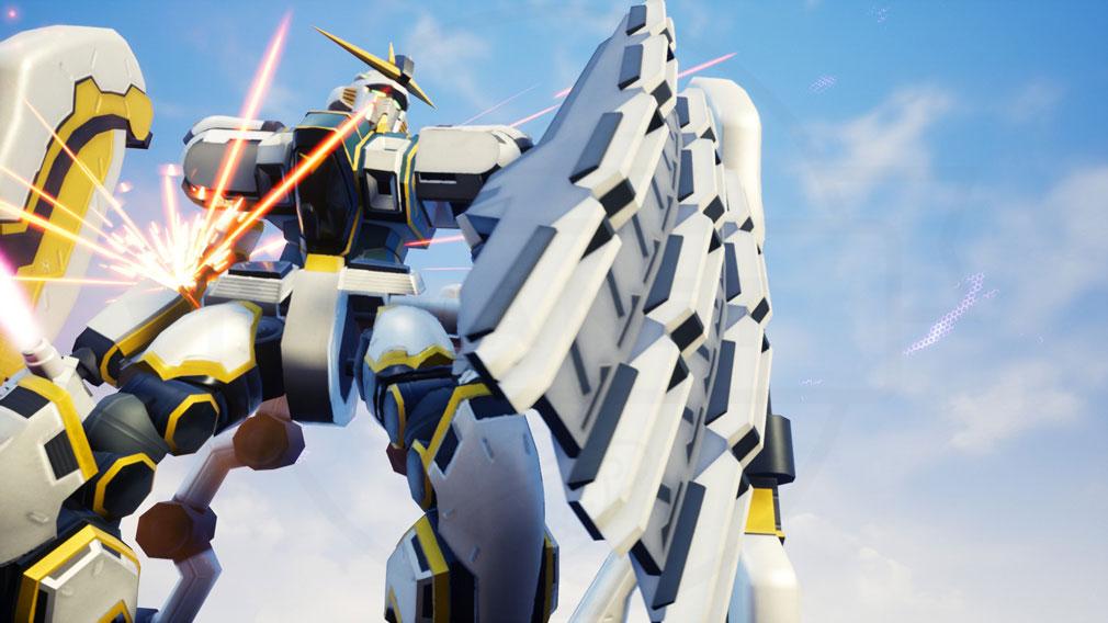 New ガンダムブレイカー PC 新規参戦ガンプラ『アトラスガンダム』スクリーンショット