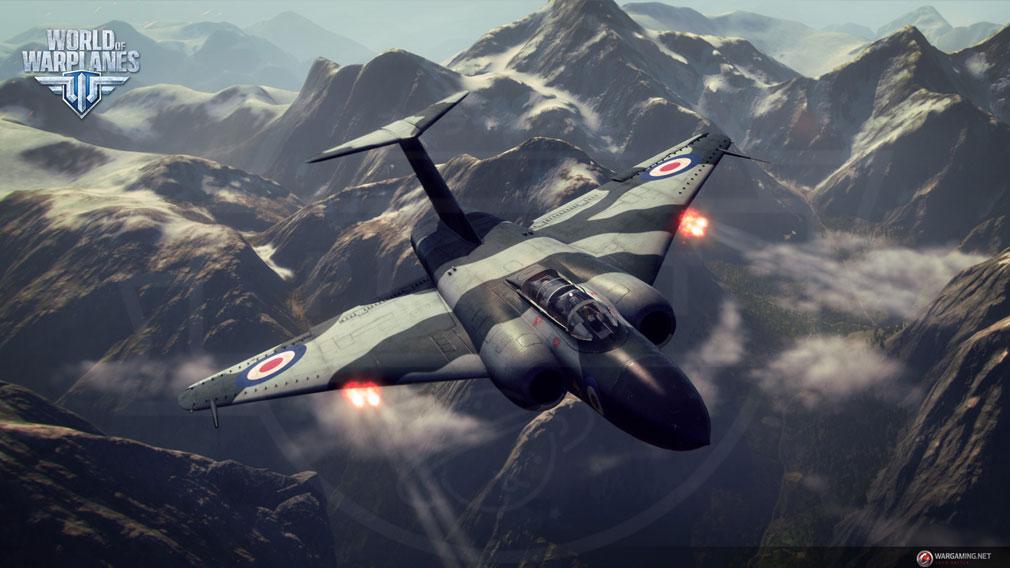 World of Warplanes (WoWP) ワールドオブウォープレインズ 重戦闘機クラススクリーンショット