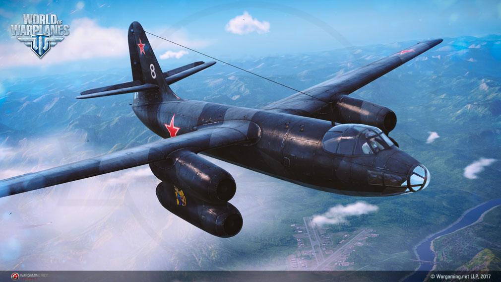 World of Warplanes (WoWP) ワールドオブウォープレインズ 爆撃機クラススクリーンショット
