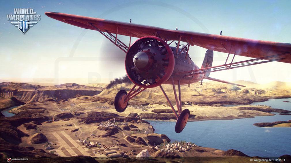 World of Warplanes (WoWP) ワールドオブウォープレインズ マルチロール機クラススクリーンショット