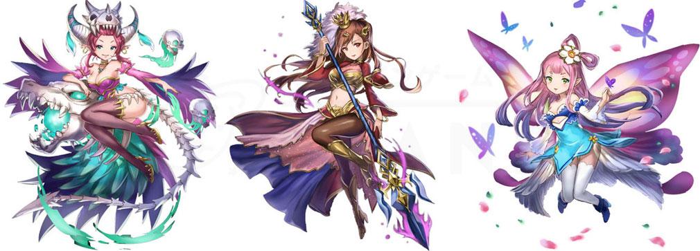 ケモニスタオンライン キャラクターイメージ