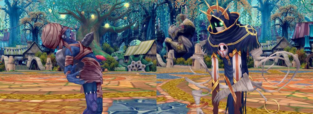 星界神話 -ASTRAL TALE- 『肝試しイベント』クエストに関連するキャラクタースクリーンショット