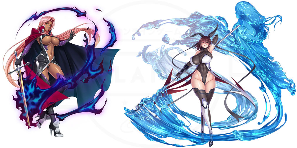 対魔忍RPG 一般版 イングリッドなどのキャラクターイメージ