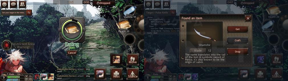 Black Survival(ブラックサバイバル)ブラサバ 食べ物で回復、装備クラフトのスクリーンショット