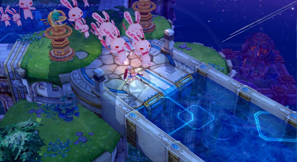 SEVENTH DARK(セブンスダーク) 守護者『フィオラ』のウサギがたくさん登場しているスクリーンショット