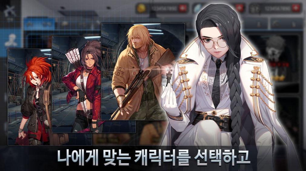 Black Survival(ブラックサバイバル)ブラサバ キャラクターイメージ