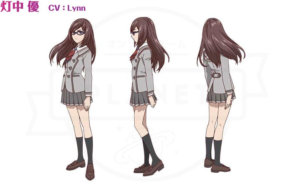 あかねさす少女 『灯中 優』CV:Lynnのキャラクター設定イメージ