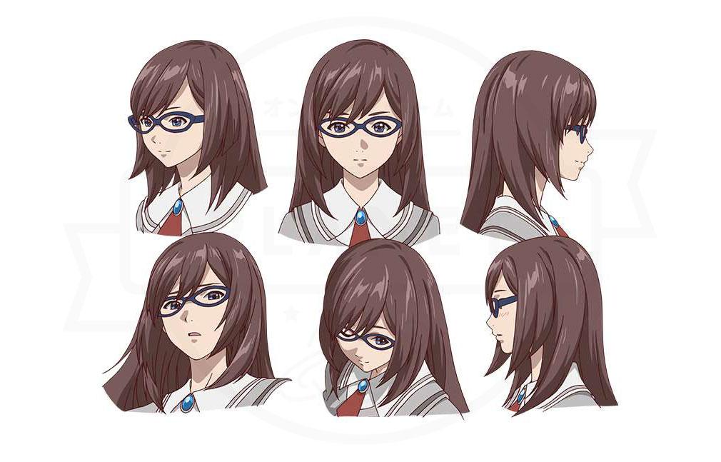 あかねさす少女 『灯中 優』CV:Lynnのキャラクター表情設定イメージ