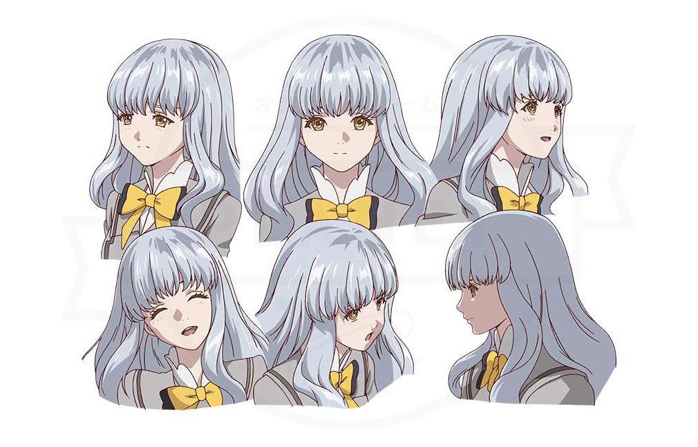 あかねさす少女 『みあ シルバーストーン』CV:東山奈央のキャラクター表情設定イメージ