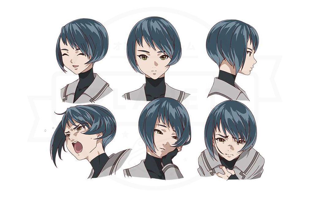 あかねさす少女 『森須 クロエ』CV:井上麻里奈のキャラクター表情設定イメージ