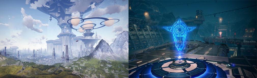 Skyforge(スカイフォージ) ワールドエリアスクリーンショット