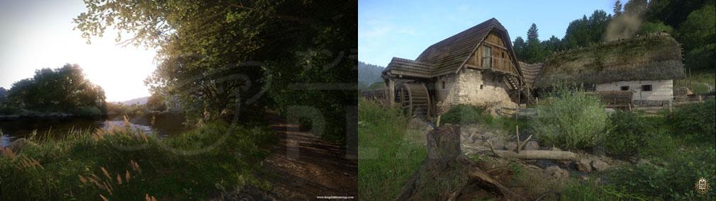 キングダムカム・デリバランス(Kingdom Come: Deliverance) 広大なエリアが実装されたスクリーンショット