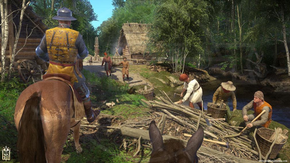 キングダムカム・デリバランス(Kingdom Come: Deliverance) 中世世界が再現されたスクリーンショット
